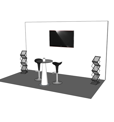 Exhibition stand hire // exhibition walling, Exhibition display panels, white pop up display ...