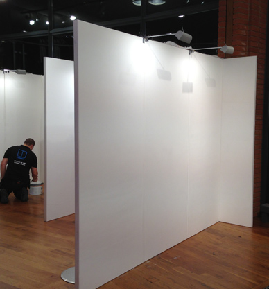 Exhibition Display Panels : Temporary walling exhibition walling exhibition display panels